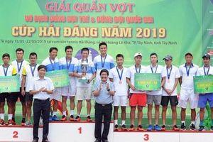 Giải Quần vợt Đồng đội nam quốc gia 2019: Hải Đăng Tây Ninh thắng áp đảo, lên ngôi vương xứng đáng
