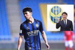 Điểm yếu của Công Phượng bị tân HLV Incheon United chỉ điểm