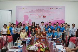 Dự án 'Vì mẹ và bé - Vì tầm vóc Việt' chính thức khởi động năm thứ 3
