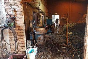 Cháy xưởng gỗ keo, bời lời, thiệt hại gần 1 tỉ đồng