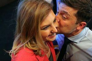 Động thái của Đệ nhất phu nhân Ukraine sau khi chồng nhậm chức