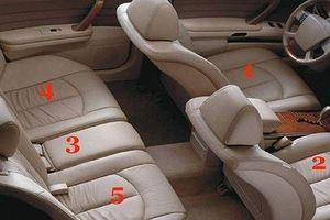 Ngồi chỗ nào an toàn nhất trên xe hơi?