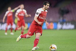 Arsenal ngậm ngùi loại Mkhitaryan ở trận chung kết Europa League!