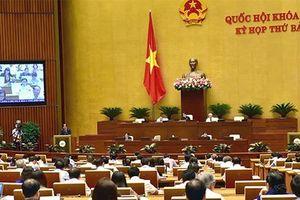Quốc hội thảo luận về kinh tế xã hội và Luật Thi hành án hình sự