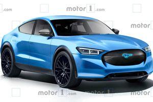 'Ngựa hoang' của hãng Ford lộ diện bản chạy điện
