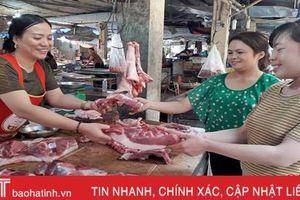 Kiểm soát chặt tại lò mổ, mang thịt lợn sạch đến người dùng Hà Tĩnh