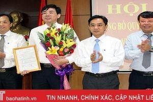 Phó Trưởng ban quản lý KKT Hà Tĩnh giữ chức Bí thư Thị ủy Kỳ Anh