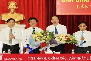 Giám đốc Sở Thông tin và Truyền thông làm Bí thư Huyện ủy Nghi Xuân