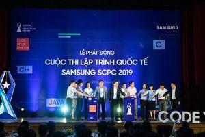 Samsung khởi động cuộc thi lập trình quốc tế dành cho sinh viên