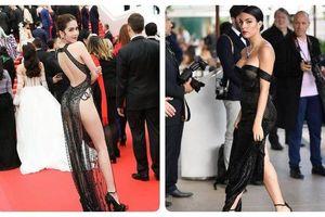 Không hở bạo như Ngọc Trinh, bạn gái Ronaldo vẫn tỏa sáng ở Cannes