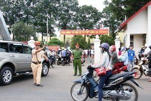 Hà Nội rà soát, tổ chức lại giao thông phục vụ kỳ thi THPT quốc gia