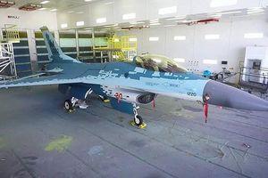 Cận cảnh Mỹ 'hô biến' tiêm kích F-16C thành chiến đấu cơ Su-57 của Nga