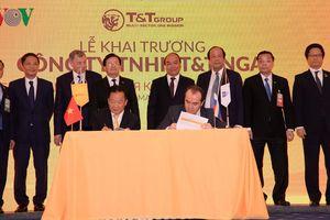 Thủ tướng dự lễ khai trương doanh nghiệp Việt Nam tại Nga