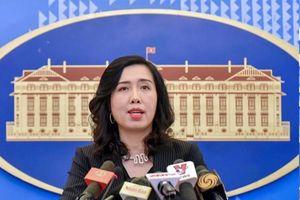 Việt Nam lên tiếng về tàu TQ cào nghêu phá hoại môi trường ở Biển Đông