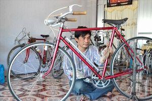 Bộ sưu tập xe đạp độc lạ, tuổi đời gần một thế kỷ của thầy giáo phố núi