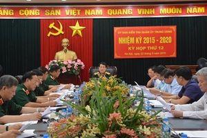 UBKT Quân ủy Trung ương đề nghị kỷ luật 7 đảng viên