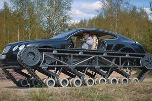 Quá trình biến siêu xe Bentley thành xe tăng