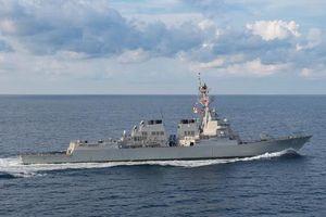 Mỹ điều hai tàu Hải quân qua Eo biển Đài Loan