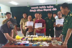BĐBP Quảng Trị phá thành công chuyên án 601L, thu giữ 100.000 viên ma túy tổng hợp
