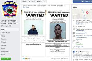 Tội phạm truy nã đòi 15.000 lượt 'Like' trên Facebook mới ra đầu thú