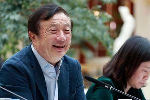 Nhà sáng lập Huawei nói gì trong 'vòng vây' của Mỹ?