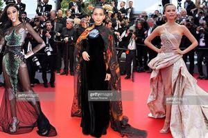 Cannes ngày 9: Mỹ nhân 'hở' ngang Ngọc Trinh, Á hậu Việt bị nhầm với mẫu Nga