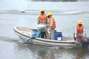 Khảo sát nước hồ Ba Mẫu sau 3 năm làm sạch bằng công nghệ Đức