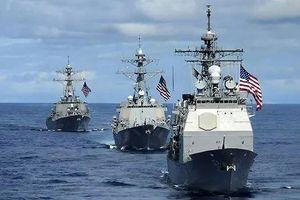Giữa căng thẳng với Trung Quốc, Mỹ điều tàu chiến đi qua eo biển Đài Loan