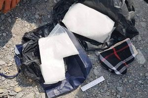 Long An: Bắt 2 đối tượng vận chuyển 5 kg ma túy
