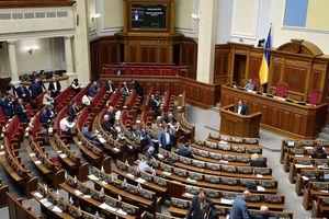 Quốc hội Ukraine 'dội gáo nước lạnh' lên tân Tổng thống Zelensky