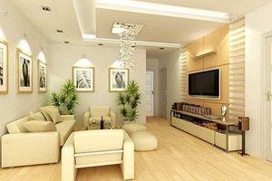 Cách thiết kế phòng khách căn hộ chung cư có diện tích nhỏ