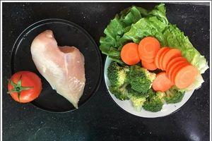 Chuẩn bị bữa trưa vừa đủ chất lại giảm cân hiệu quả chỉ trong 10 phút