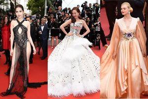 Báo nước ngoài xếp hạng Ngọc Trinh lọt top mặc đẹp nhất Cannes 2019