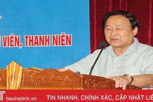 GS Nguyễn Lân Hùng 'mách nước' làm nông nghiệp cho tuổi trẻ Bắc Trung bộ