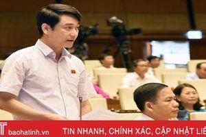 Đại biểu Quốc hội Hà Tĩnh góp ý Luật Phòng, chống tác hại của rượu, bia