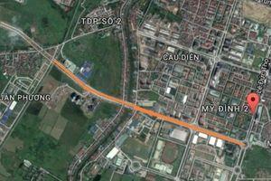 Sai phạm tại dự án BT đổi 70ha đất vàng lấy 3,51km đường ở Hà Nội