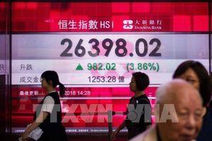 Các chỉ số chứng khoán châu Á đồng loạt giảm điểm