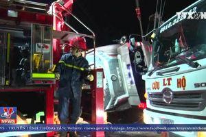 Lật xe khách tại Đồng Nai khiến 19 người thương vong