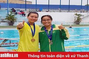 Các VĐV Thanh Hóa thi đấu xuất sắc tại giải bơi vô địch các nhóm tuổi quốc gia 2019