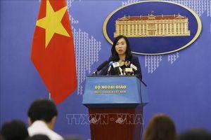 Đề nghị Trung Quốc tôn trọng chủ quyền của Việt Nam đối với hai quần đảo Hoàng Sa và Trường Sa