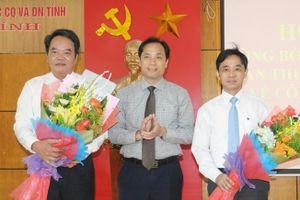 Công bố quyết định nhân sự mới tại Hà Tĩnh, Thanh Hóa và Nghệ An