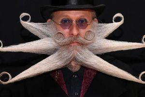 Ấn tượng những bộ râu 'chỉ có một trên đời' tại giải vô địch râu, ria thế giới 2019
