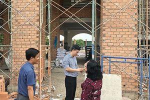 Một trường học xây dựng không phép ở Đồng Nai