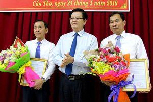 Công bố quyết định nhân sự Phó Bí thư Thành ủy Cần Thơ