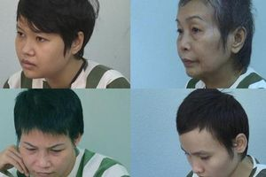 Chân dung 4 phụ nữ vừa bị khởi tố trong vụ 'bê tông xác người'