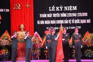Bệnh viện Quân y 354 (Tổng cục Hậu cần) kỷ niệm 70 năm Ngày truyền thống và đón nhận Huân chương bảo vệ Tổ quốc hạng Nhì
