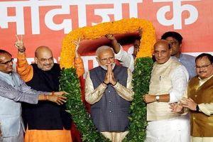 Dân Ấn Độ ăn mừng chiến thắng lịch sử của Thủ tướng Modi