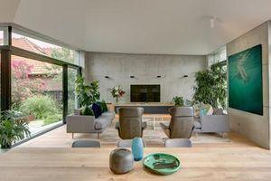 Nhà trăm tuổi cải tạo thành biệt thự vườn bình yên
