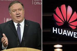 Trung Quốc 'phản ứng mạnh' với phát biểu của Ngoại trưởng Mỹ về Huawei