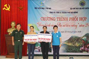 'Đồng hành cùng phụ nữ biên cương' năm 2019 trên địa bàn biên giới huyện Hương Khê